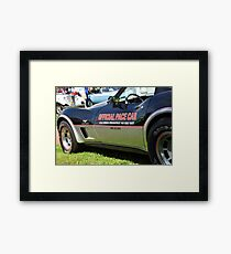 1978 Corvette - Indy 500 Pace Car Framed Print