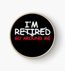 Retired Go Around Me Clock
