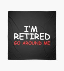 Retired Go Around Me Scarf