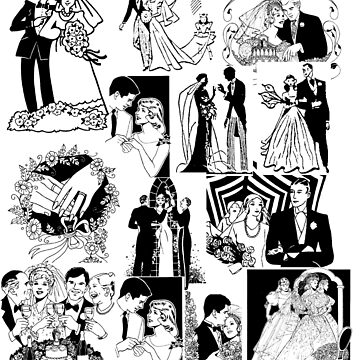 Wedding Ceremonies, Engagements And Parties -Illustrations by emanni
