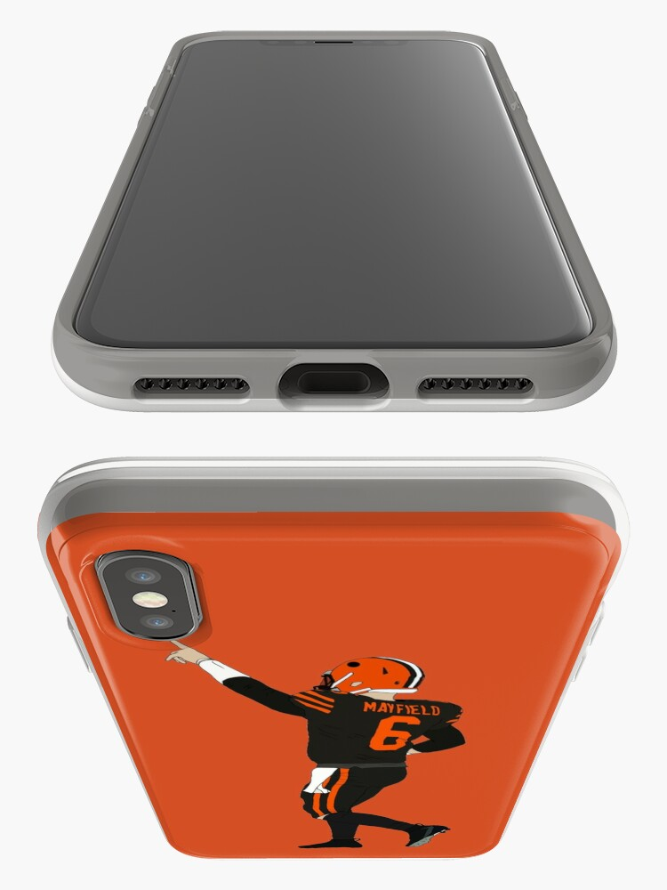 Alternate view of Baker Mayfield's First Win iPhone Case & Cover