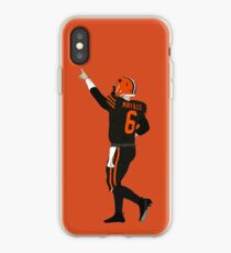 Baker Mayfield's First Win iPhone Case