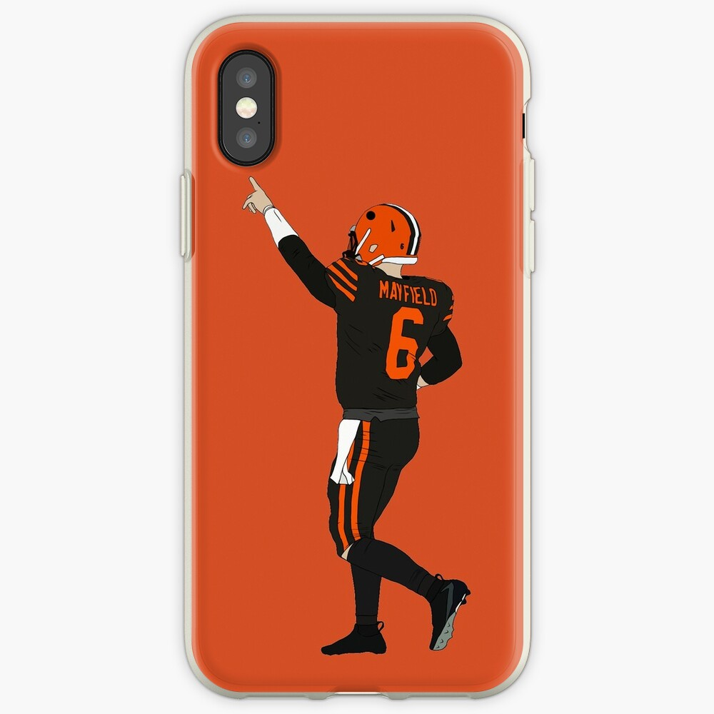 Baker Mayfield's First Win iPhone Case & Cover