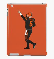 Baker Mayfield's First Win iPad Case/Skin