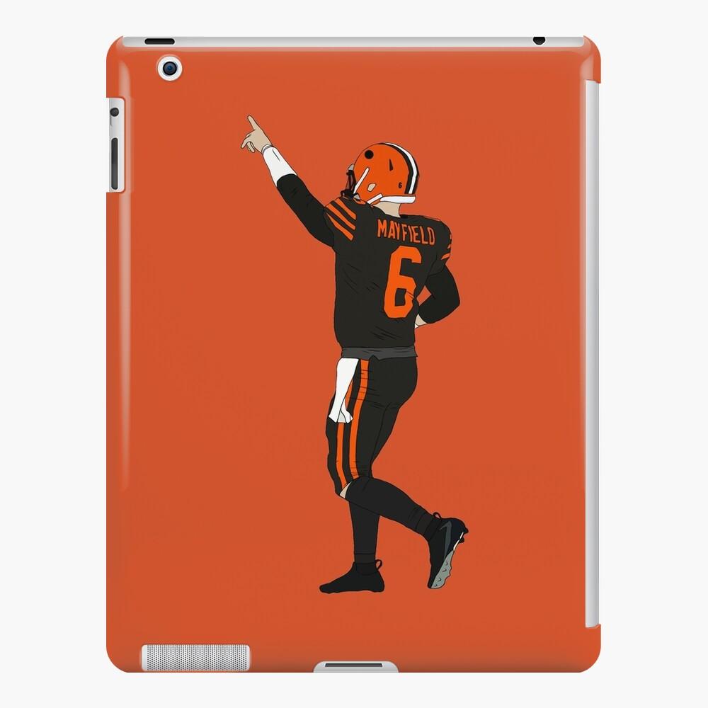 Baker Mayfield's First Win iPad Case & Skin