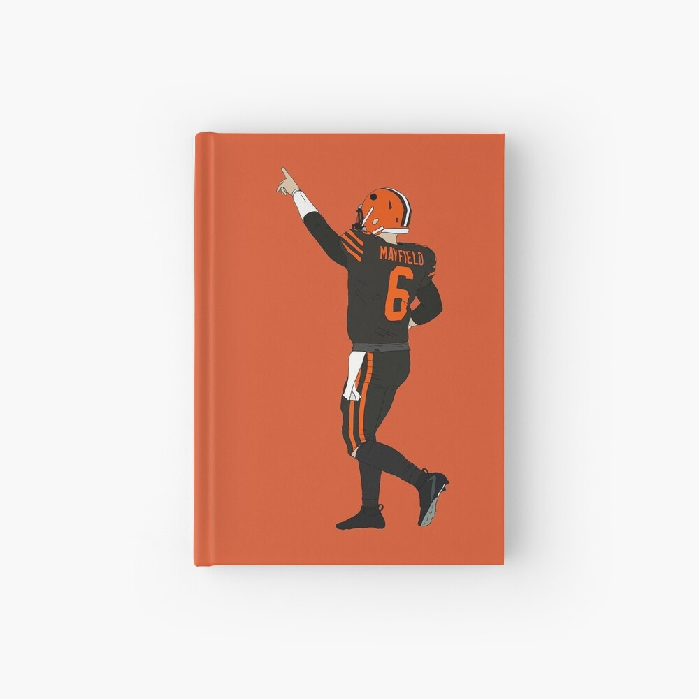 Baker Mayfield's First Win Hardcover Journal
