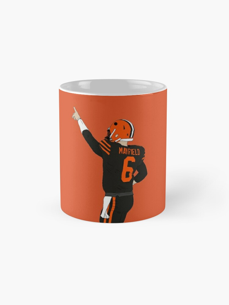 Alternate view of Baker Mayfield's First Win Mug
