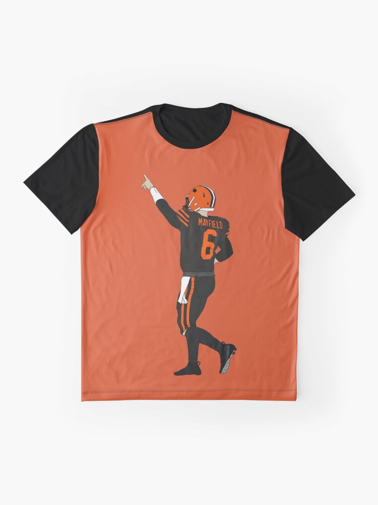 Alternate view of Baker Mayfield's First Win Graphic T-Shirt