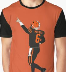 Baker Mayfield's First Win Graphic T-Shirt