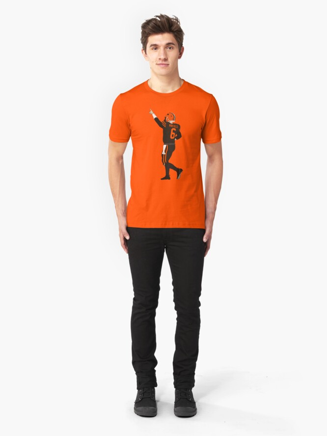 Alternate view of Baker Mayfield's First Win Slim Fit T-Shirt