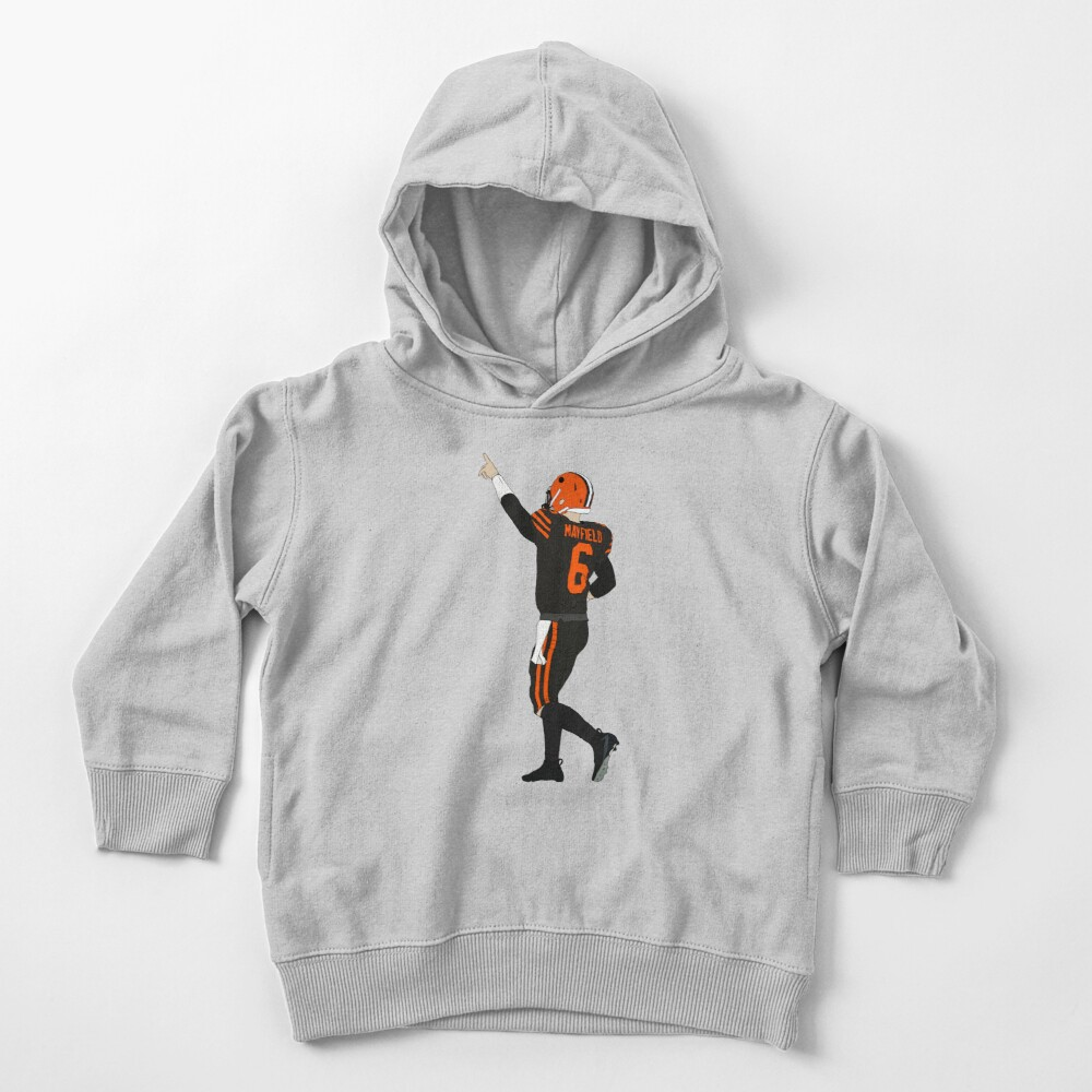 Baker Mayfield's First Win Toddler Pullover Hoodie