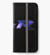 Type R Galaxy - Blue iPhone Wallet/Case/Skin