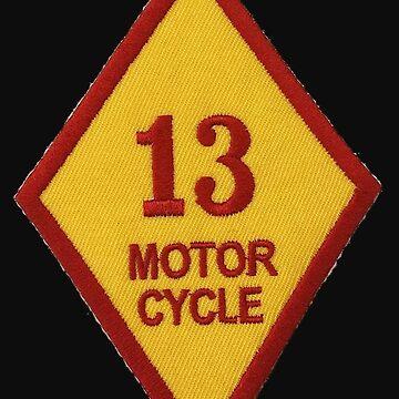 Bandidos 13 Motor Cycle  by Glyn123
