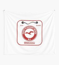 Point Pleasant Beach Badge Wall Tapestry