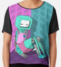 Robo Girl Chiffon Top