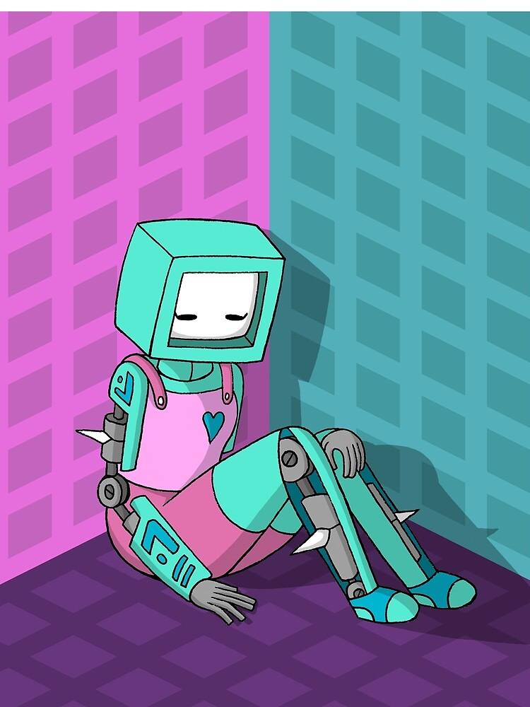 Robo Girl by supercooperb