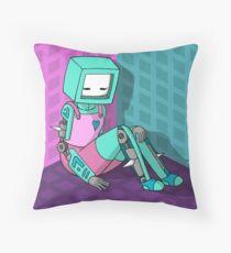 Robo Girl Floor Pillow