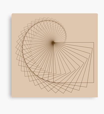 Geometric Spiral 001 Canvas Print