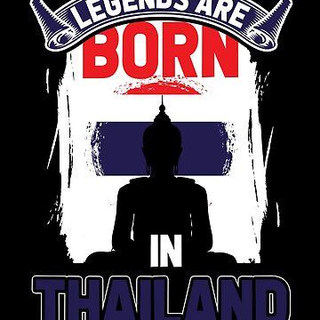 Thailand legends by GeschenkIdee