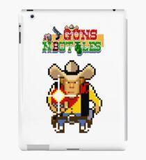 Guns n' bottles iPad Case/Skin
