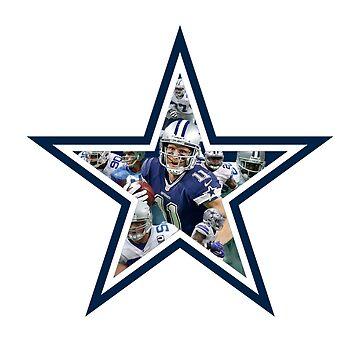 Dallas Cowboys Stars by NIKOisCREATING