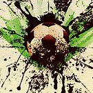 Grunge Fußball 2 von AnnArtshock