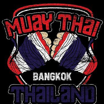 Thailand Muay Thai by GeschenkIdee