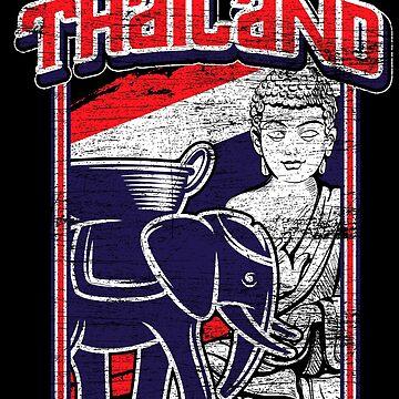 Thailand Thai massage by GeschenkIdee