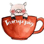Teacup Pig by KaylaPhan