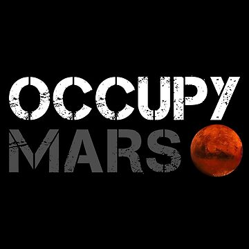 Occupy Mars — SpaceX, Elon Musk by MichailoAvilov