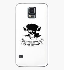To Err Is Human To Arr Is Pirate Case/Skin for Samsung Galaxy