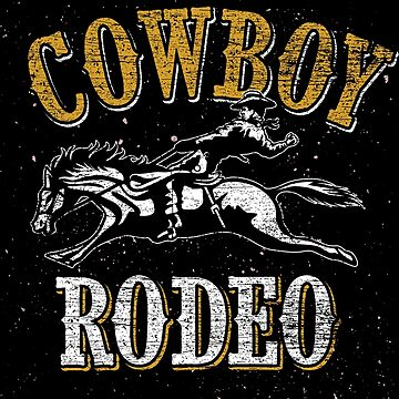 Cowboys Rodeo by GeschenkIdee