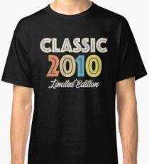 2010 Oldscool Birthday Vintage Retro Classic T-Shirt
