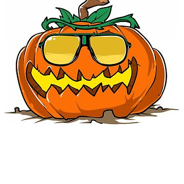 Pumpkin with Cool Sunglasses by iwaygifts