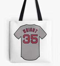 Steven Wright Jersey Tote Bag