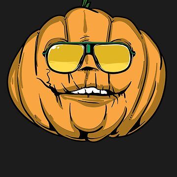 Funny Pumpkin with Sunglasses by iwaygifts