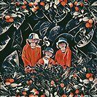 Three monkeys by jblittlemonsters