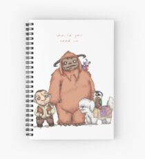 Labyrinth - Should you need us Spiral Notebook