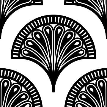 Art deco Tiling pattern by ElmurFud