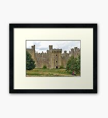 The Ruins of Bodium Castle in East Sussex, England Framed Print