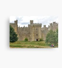 The Ruins of Bodium Castle in East Sussex, England Metal Print