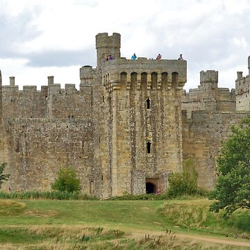 The Ruins of Bodium Castle in East Sussex, England by gigges
