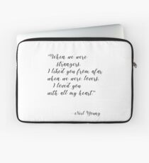 Neil Young, Harvest moon Laptop Sleeve