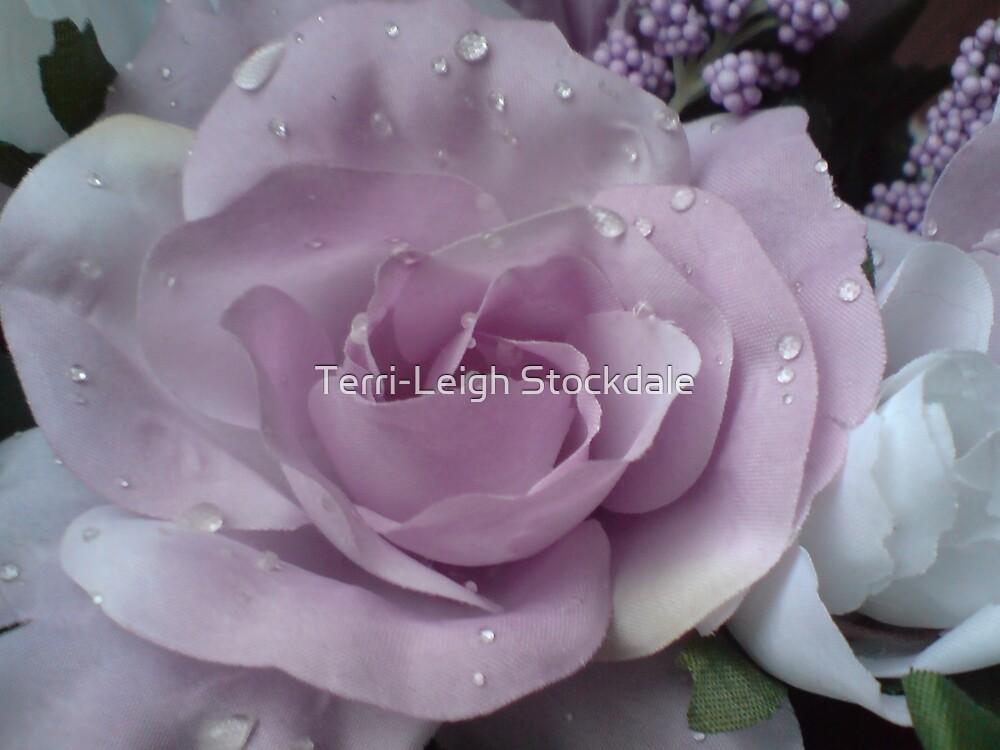 Purple Flower by Terri-Leigh Stockdale