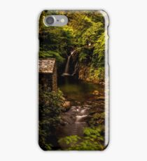 Rydal Falls and Grot iPhone Case/Skin