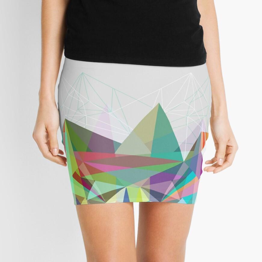 Colorflash 7 Mini Skirt