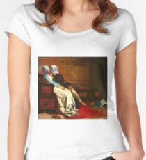 Blind love pt 4 Women's Fitted Scoop T-Shirt