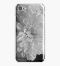 White Bloom (Balck And White) iPhone Case/Skin