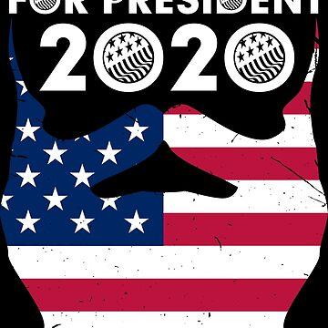 BEARDED FOR PRESIDENT 2020 by netrok