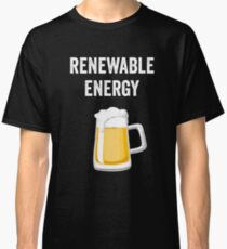 Beer Pint Reneable Energy Classic T-Shirt
